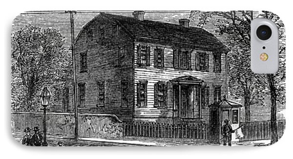 Aaron Burr Birthplace Phone Case by Granger