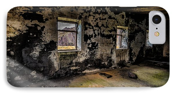 Abandoned Building IPhone Case by Adrian Evans