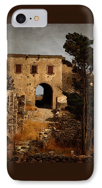 Abandoned Castle Phone Case by Christo Christov