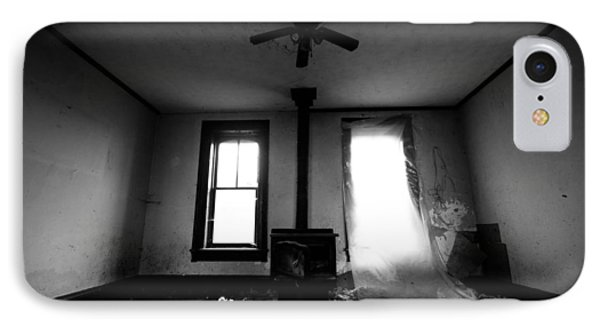 Abandoned Fireplace IPhone Case by Cale Best