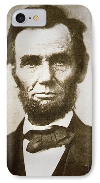 Abraham Lincoln IPhone Case by Alexander Gardner
