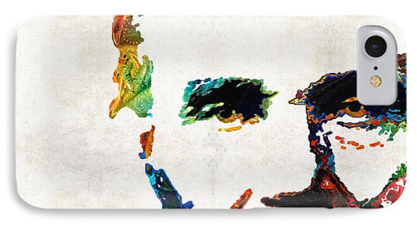 Abraham Lincoln Art - Colorful Abe - By Sharon Cummings IPhone Case by Sharon Cummings