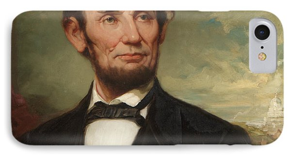 Abraham Lincoln  IPhone 7 Case by George Henry Story