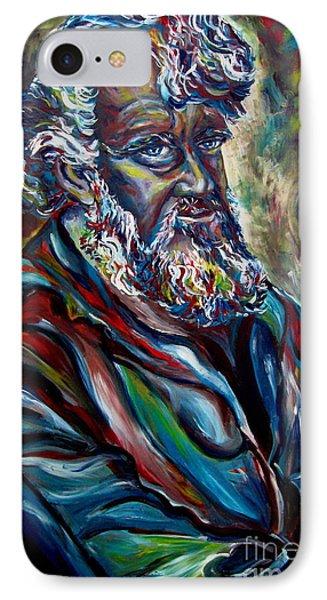 Abraham  Patriarch Phone Case by Carole Spandau