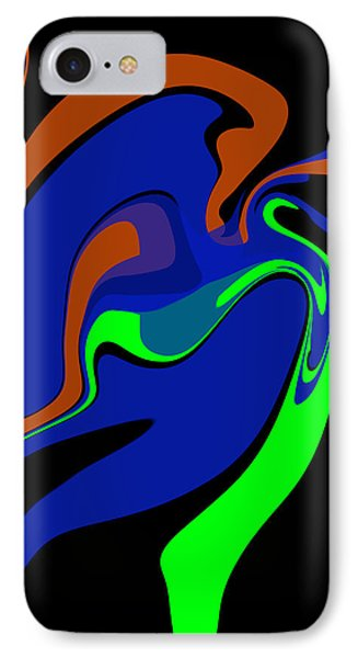 Abstract 124 Phone Case by J D Owen
