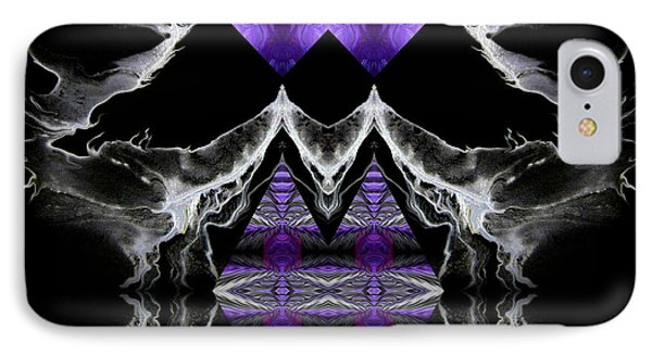 Abstract 136 Phone Case by J D Owen