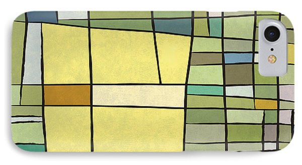 Abstract Cubist Phone Case by Gary Grayson
