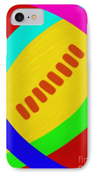Abstract Football Phone Case by Andee Design