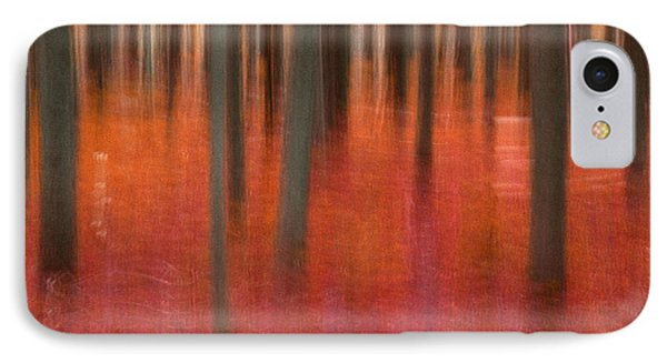 Abstract Forest 2 IPhone Case by Leland D Howard