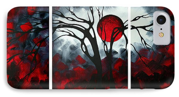Abstract Gothic Art Original Landscape Painting Imagine By Madart Phone Case by Megan Duncanson