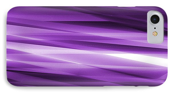 Abstract Modern Purple  Background Phone Case by Somkiet Chanumporn
