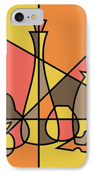 Abstract Still Life 2 IPhone Case by Donna Mibus