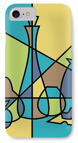 Abstract Still Life IPhone Case by Donna Mibus