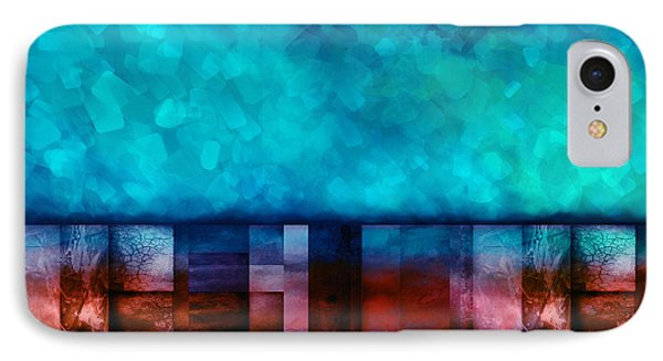 Abstract Study Seven Phone Case by Ann Powell
