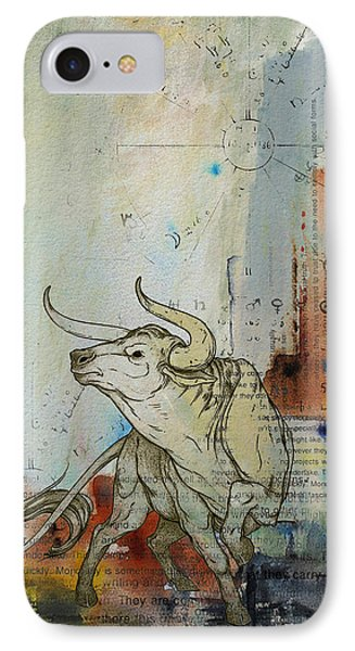 Abstract Tarot Art 017 IPhone Case by Corporate Art Task Force