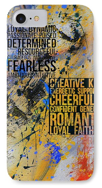 Abstract Tarot Art 018 IPhone Case by Corporate Art Task Force