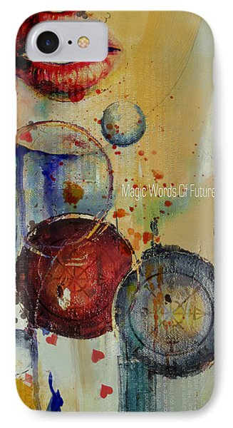 Abstract Tarot Art 021 IPhone Case by Corporate Art Task Force