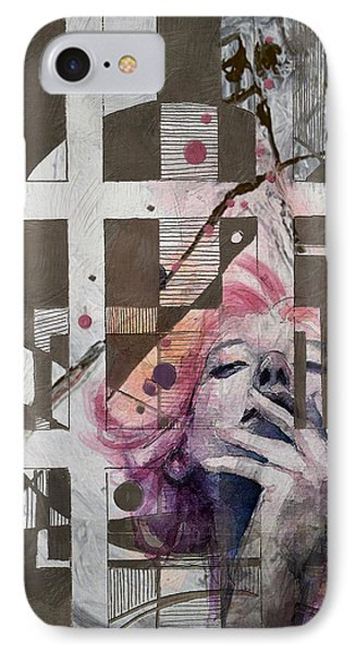 Abstract Woman 001 Phone Case by Corporate Art Task Force