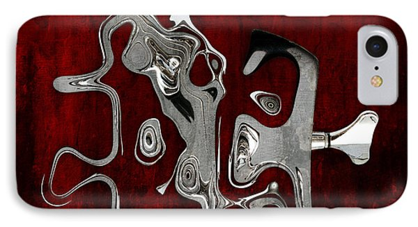 Abstrait En Fa Majeur - S02t02 IPhone Case by Variance Collections