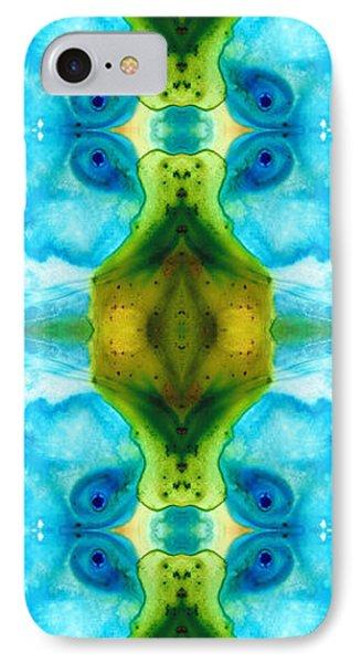 Abundant Life - Pattern Art By Sharon Cummings IPhone Case by Sharon Cummings