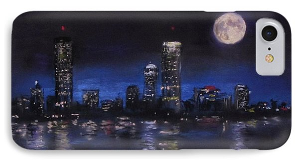 Across The Charles At Night IPhone Case by Jack Skinner