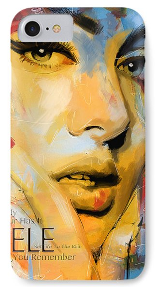 Adele IPhone Case by Corporate Art Task Force