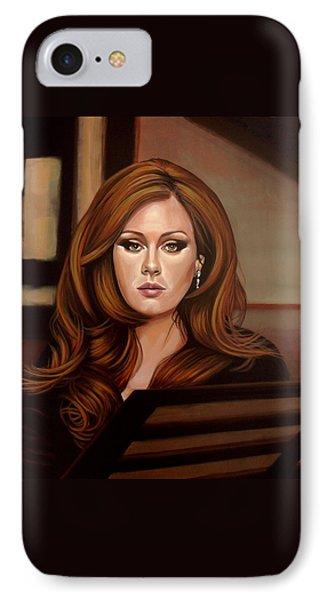 Adele IPhone 7 Case by Paul Meijering