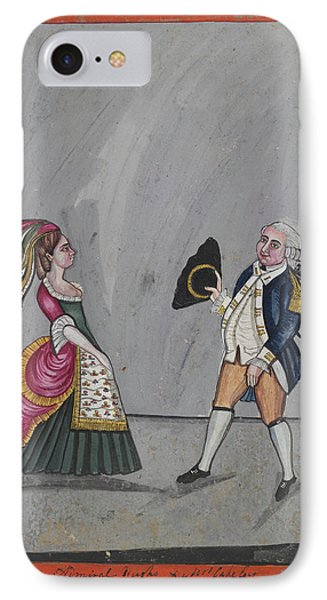 Admiral Hughes And Mrs. Oakeley IPhone Case by British Library