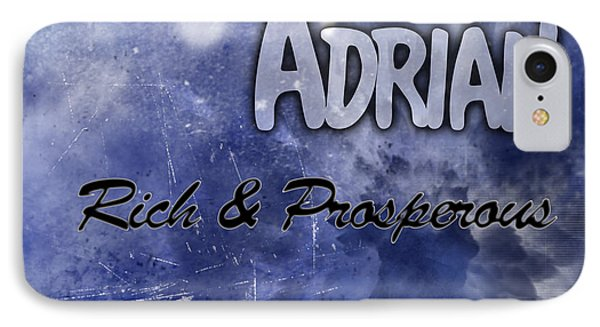 Adrian - Rich And Prosperous Phone Case by Christopher Gaston