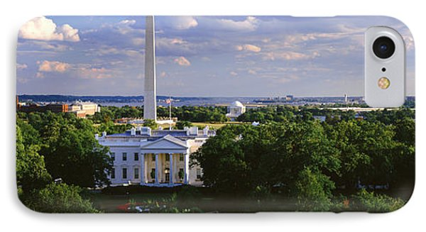 Aerial, White House, Washington Dc IPhone 7 Case by Panoramic Images