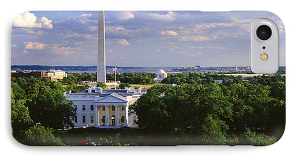 Aerial, White House, Washington Dc IPhone Case by Panoramic Images