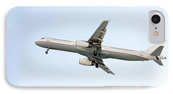 Aeroplane In Sky IPhone Case by Wladimir Bulgar