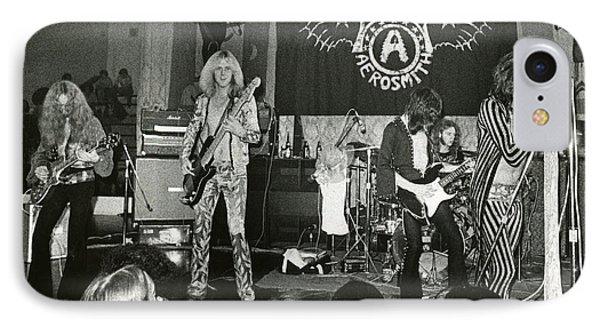 Aerosmith - Aerosmith Tour 1973 IPhone Case by Epic Rights