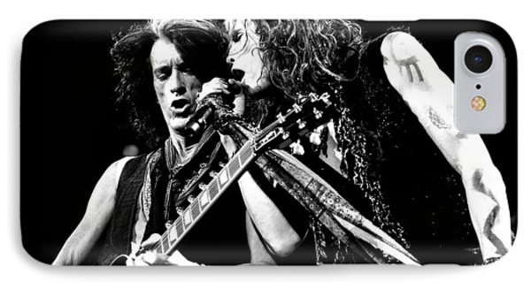Aerosmith - Joe Perry & Steve Tyler IPhone 7 Case by Epic Rights