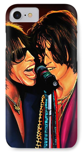 Aerosmith Toxic Twins Painting IPhone Case by Paul Meijering