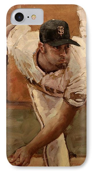 Affeldt Focus IPhone Case by Darren Kerr