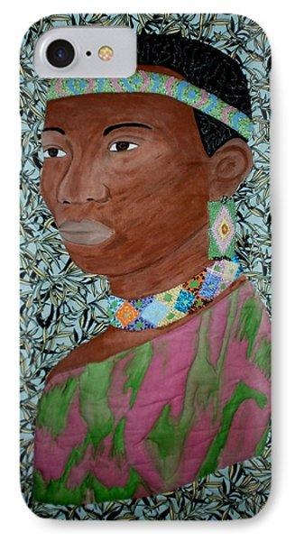 African Queen Phone Case by Linda Egland