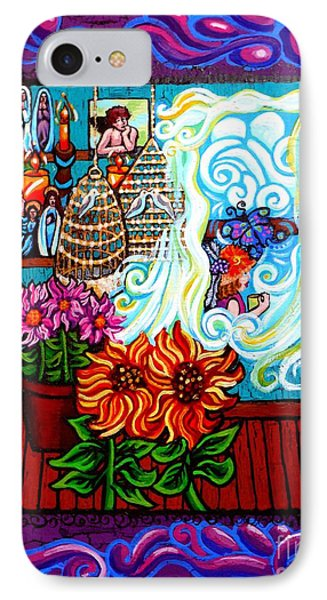 Afternoon Tea By The Window IPhone Case by Genevieve Esson