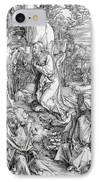 Agony In The Garden From The 'great Passion' Series Phone Case by Albrecht Duerer