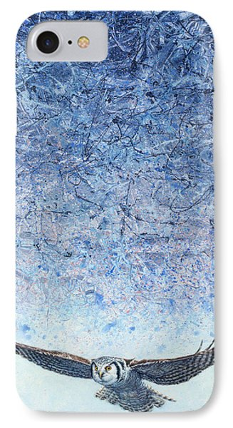 Ahead Of The Storm IPhone Case by James W Johnson