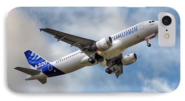Airbus A320 IPhone Case by Steve H Clark Photography
