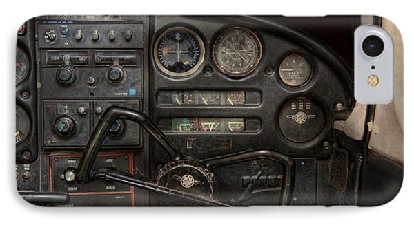 Airplane - Piper Pa-28 Cherokee Warrior - A Warriors View IPhone Case by Mike Savad