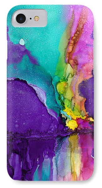 Alaska Aurora Borealis IPhone Case by Karen Mattson