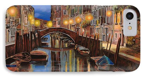 alba a Venezia  IPhone Case by Guido Borelli