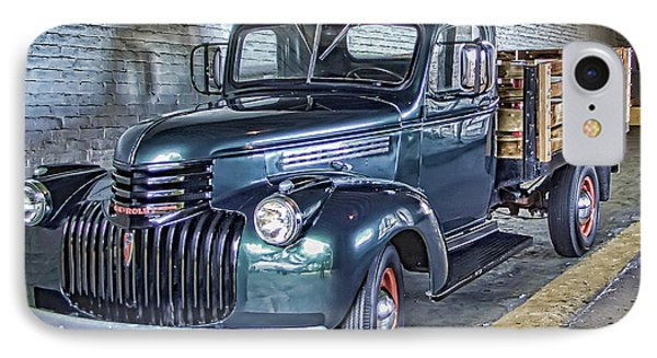 Alcatraz 1940 Chevy Utility Truck Phone Case by Daniel Hagerman