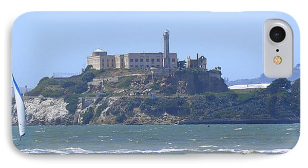 Alcatraz Island IPhone Case by Mike McGlothlen