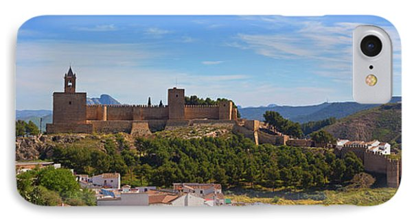Alcazaba Castle In Antequera, Malaga IPhone Case by Panoramic Images