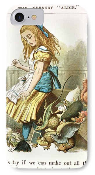 Alice Upsets The Jury-box IPhone Case by British Library