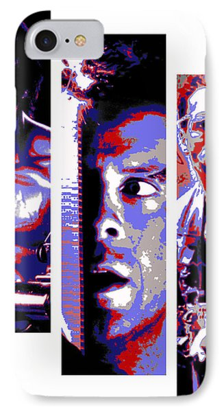 All-american 80's Action Movies Phone Case by Dale Loos Jr