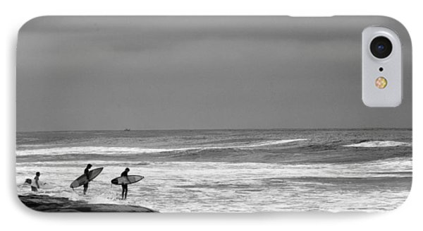 All In Black And White IPhone Case by Peter Tellone